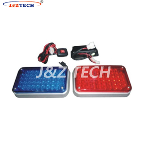 Red and Blue Motorcycle strobe led light kits