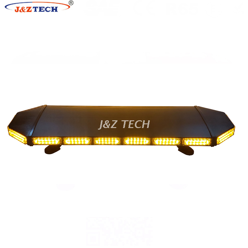 38'' aluminum housing police warning lights ambulance strobe led mini lightbar