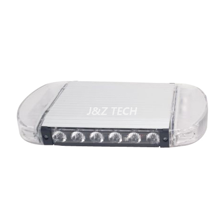 Magnetic mounting 8 inch sliver aluminum mini lightbar