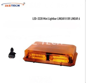 Magnetic mounting amber ambulance led mini light bar