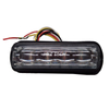 Clear lens led car surface strobe headlight warning lighthead