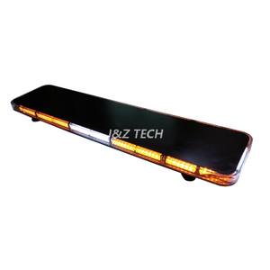 "2021 New Coming 47"" Amber White Warning Flashing Strobe Lightbar"